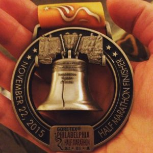 Philly Half Medal 2015