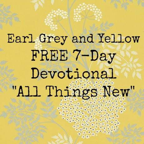 Free devotional - please enjoy!