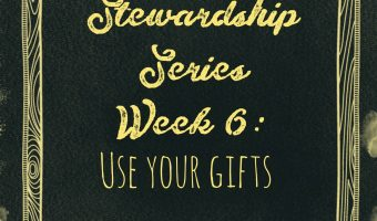 Stewardship Series Week 6: Use Your Gifts